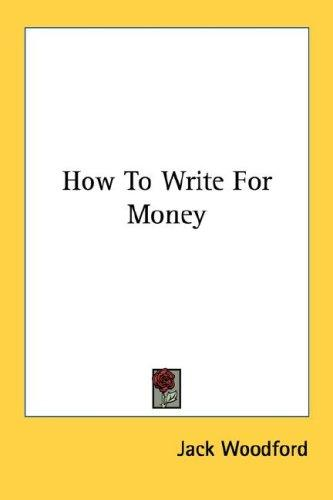 Download How To Write For Money