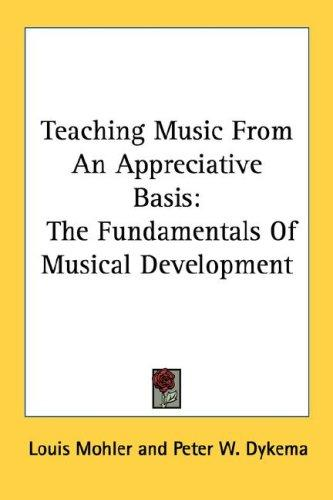 Teaching Music From An Appreciative Basis