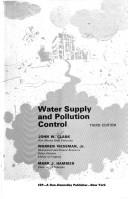 Download Water supply and pollution control