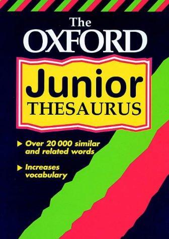 Download The Oxford Junior Thesaurus