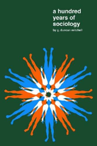 A Hundred Years of Sociology