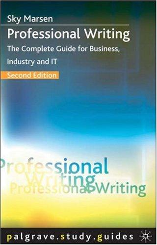 Download Professional Writing