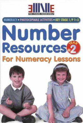 Download Number Resources for Numeracy Lessons (Evans Bookshelf)