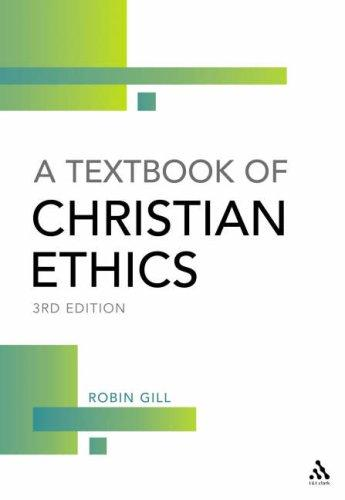 Download A Textbook of Christian Ethics