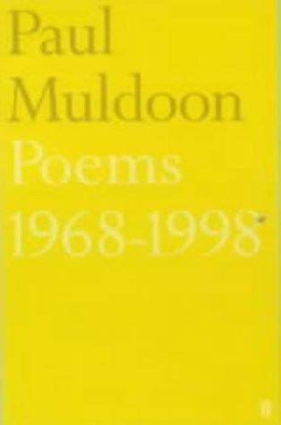Poems, 1968-1998