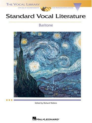 Standard Vocal Literature – An Introduction to Repertoire