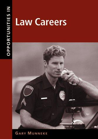 Download Opportunities in law careers
