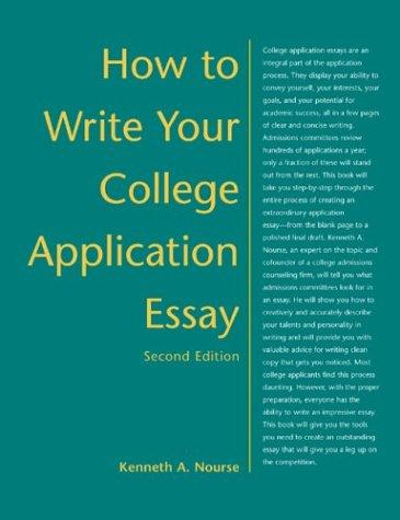 Download How to write your college application essay
