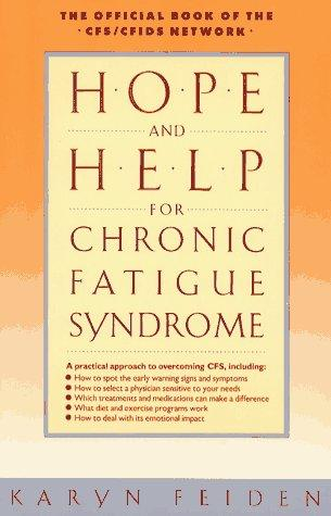 Hope and help for chronic fatigue syndrome