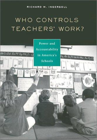 Who Controls Teachers' Work?