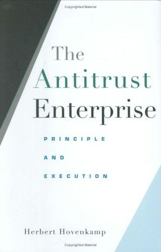 The antitrust enterprise