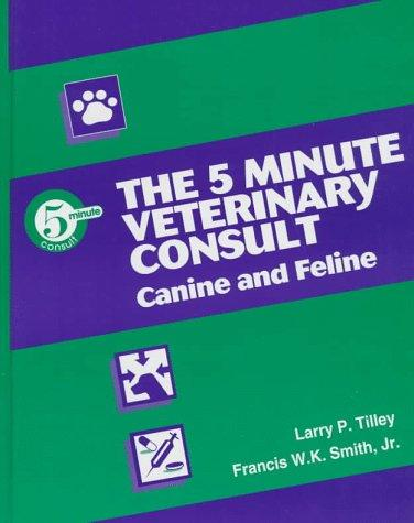 Download The 5 minute veterinary consult