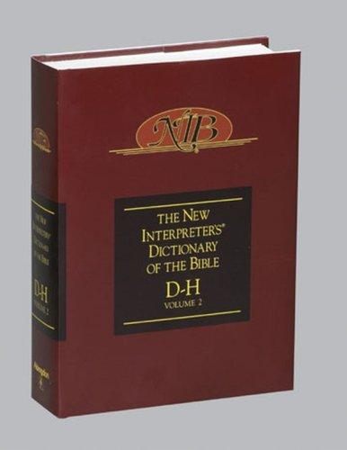 Download New Interpreter's Dictionary of the Bible