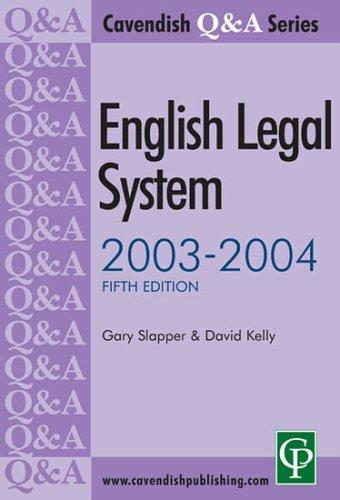 Download English legal system