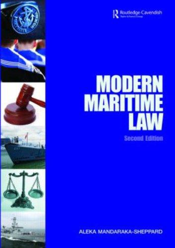 Download Modern Admiralty Law