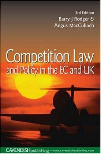 Download Competition law and policy in the EC and UK