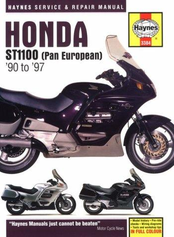 Honda ST1100 V-fours service and repair manual
