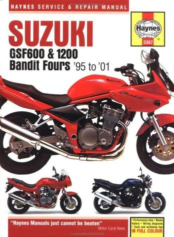 Download Suzuki Gsf600 & 1200 Bandit Fours Service and Repair Manual