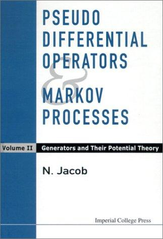 Pseudo Differential Operators & Markov Processes
