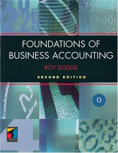 Download Foundations of Business Accounting