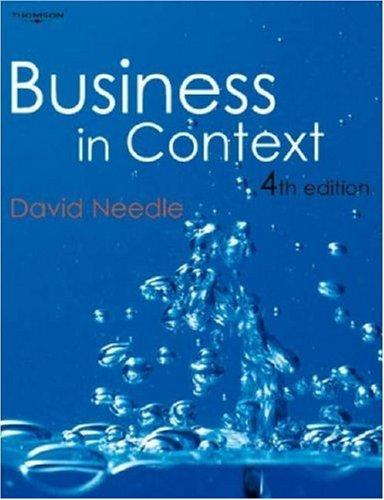 Download Business in Context