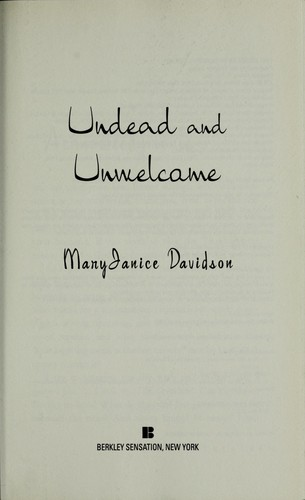 Download Undead and unwelcome