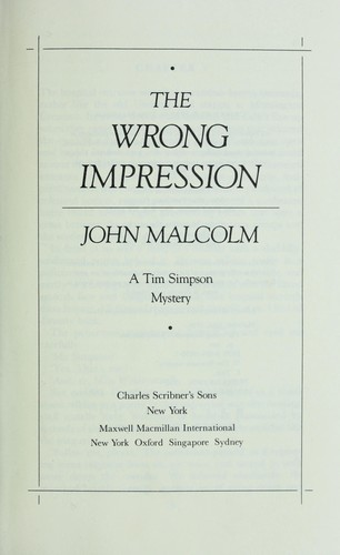 Download The wrong impression