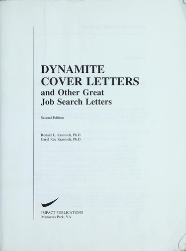 Download Dynamite cover letters and other great job search letters