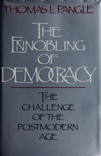 Download The Ennobling of Democracy