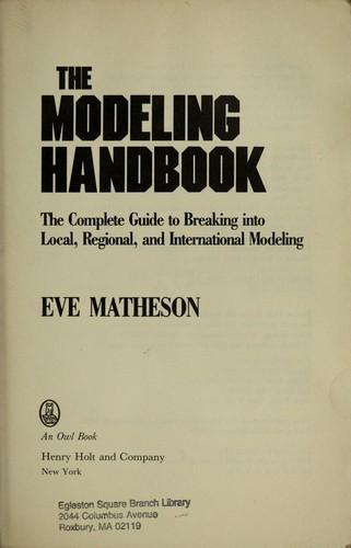 Download The modeling handbook