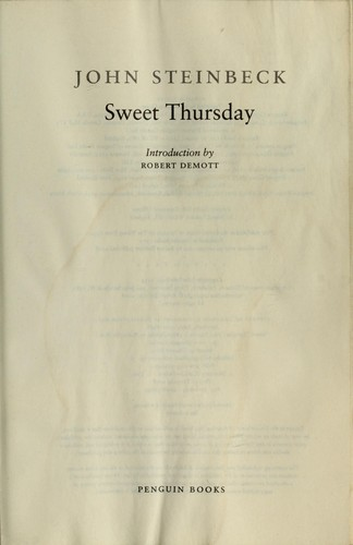 Download Sweet Thursday