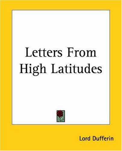Download Letters From High Latitudes