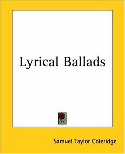 Download Lyrical Ballads