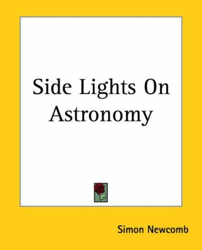 Download Side Lights On Astronomy