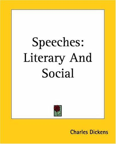 Download Speeches (Literary and Social)