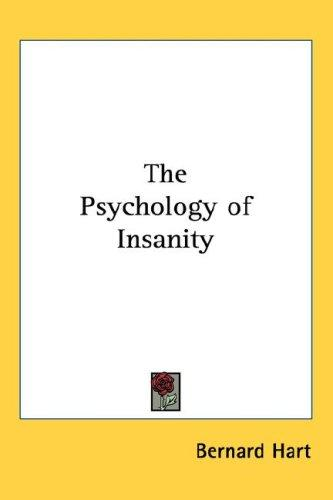 Download The Psychology of Insanity