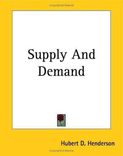 Download Supply And Demand
