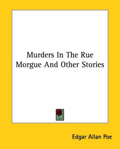 Download Murders In The Rue Morgue And Other Stories