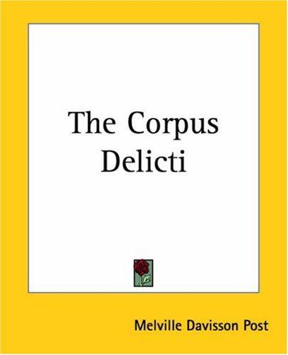 Download The Corpus Delicti