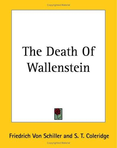Download The Death Of Wallenstein