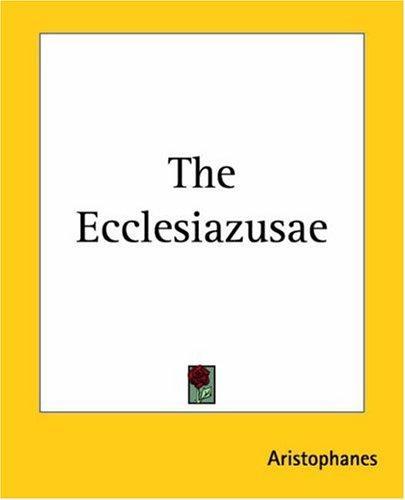 Download The Ecclesiazusae