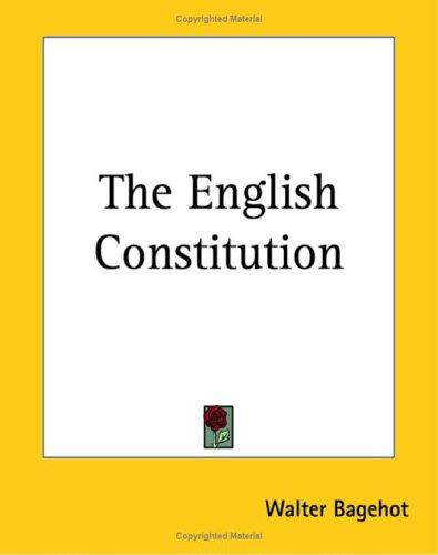 Download The English Constitution