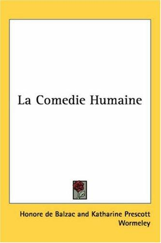 Download La Comedie Humaine