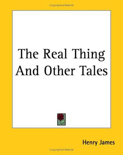 Download The Real Thing And Other Tales
