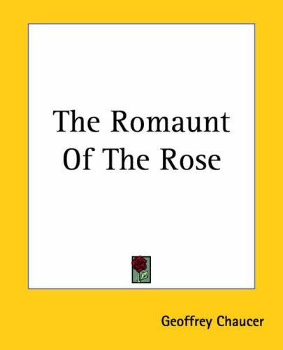 Download The Romaunt Of The Rose