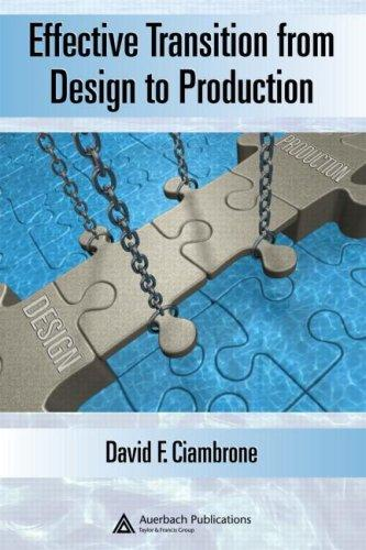 Download Effective Transition from Design to Production