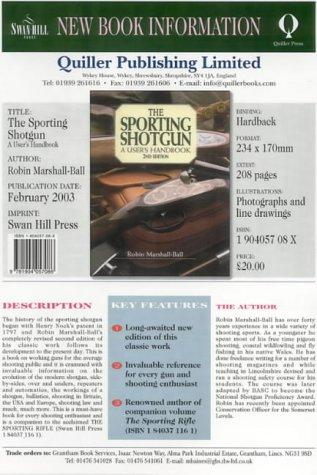 Download The Sporting Shotgun