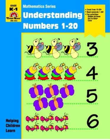 numbers 1 20. Understanding Numbers 1-20 by Jo E. Moore