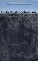 Download Early Postmodernism