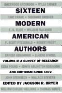 Download Sixteen Modern American Authors